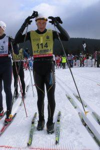 Marek Tokarczyk, instruktor nart biegowych nastarcie BIegu Piastów
