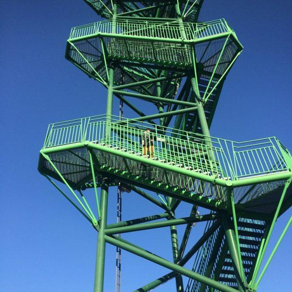 konstrukcja wieży wKotowicach