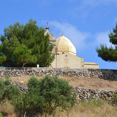 Monastyr naszczycie góry Skopos