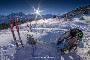 Przyczepka narciarska DIY wg Mama-na-starcie.blogspot.com :)