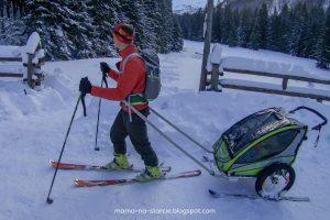 Pomysł na przyczepkę narciarską DIY wg Mama-na-starcie.blogspot.com :)