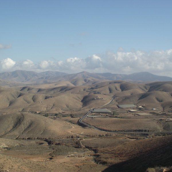 Zbieraj się, księżycowy krajobraz Fuerty