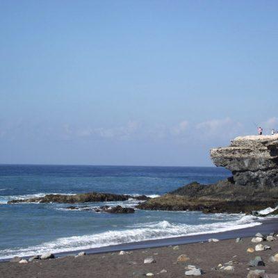 bieraj się, Fuertaventura, żwirowo-kamienista plaża w Ajuh