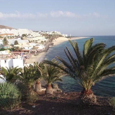 Zbieraj się, Fuerteventura, widok z