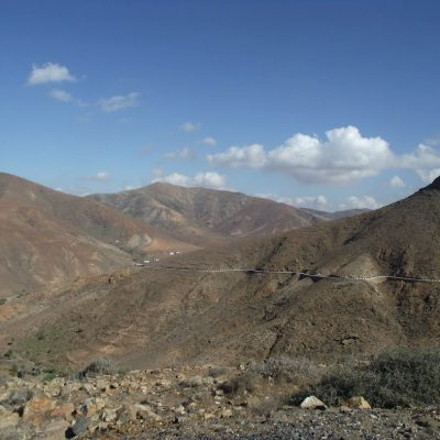 Zbieraj się, fuerteventura, góry