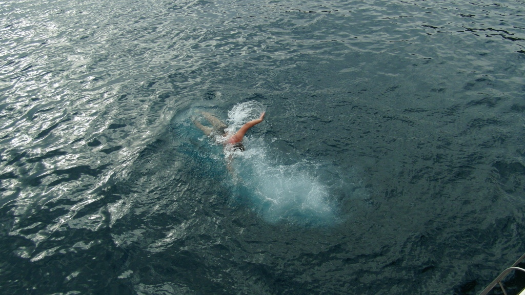 Zbieraj się, skok do wody