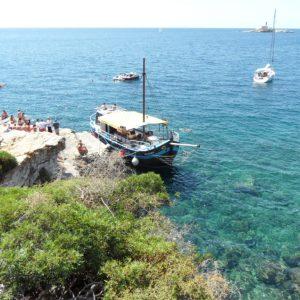 Zbieraj sie, wyspa sw Iwana, widok na port
