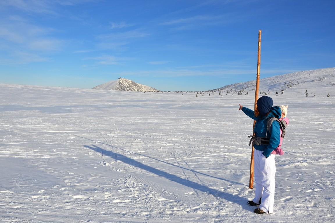 Zimowe Karkonosze, Śnieżka, Zbieraj się