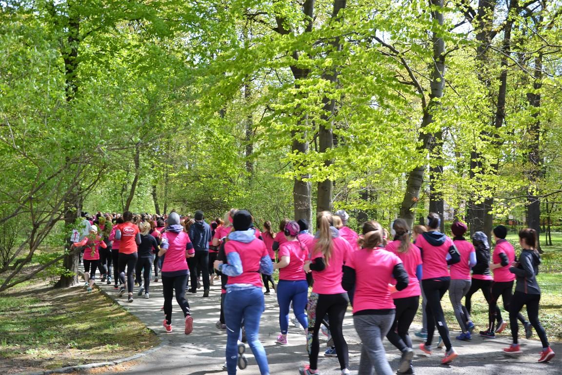 bieg kobiet we Wrocławiu 2017