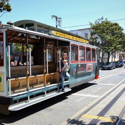 tramwaj w San Francisco