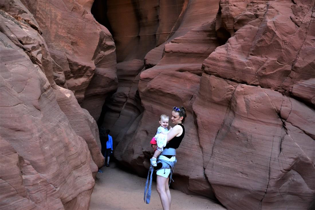 wejście do kanionu Antylopy