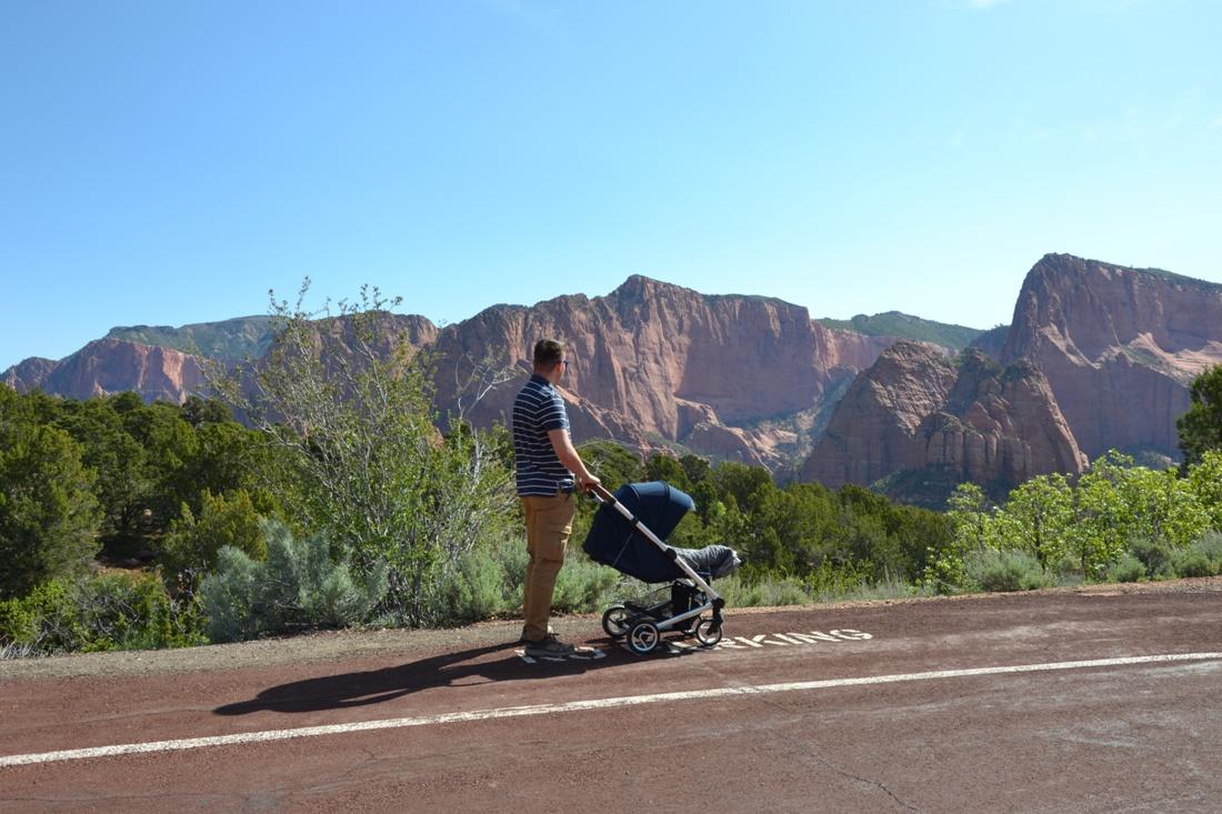 Kolob Canyon, zwiedzanie autem, Jacek i góry