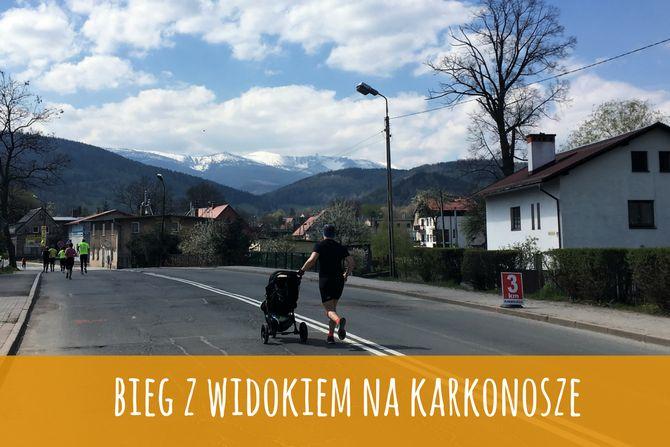 Bieg z widokiem na Karkonosze, Zbierajsie.pl