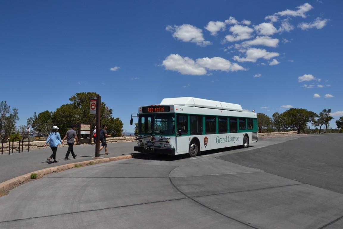 Wielki Kanion Kolorado, Zbierajsie autobus