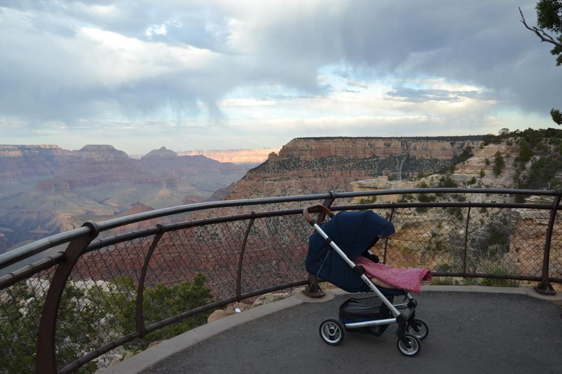 Wielki Kanion Kolorado, Zbierajsie _ wózek Mutsy igo