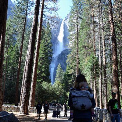 park yosemite, zbierajsie.pl wodospad Yosemite Falls
