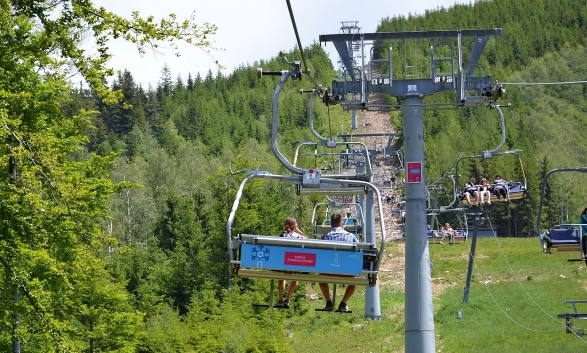 wyciąg krzesełkowy Dolni Morava Sky Walk