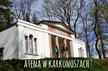 Kotlina Jeleniogórska: Świątynia Ateny w Parku w Bukowcu