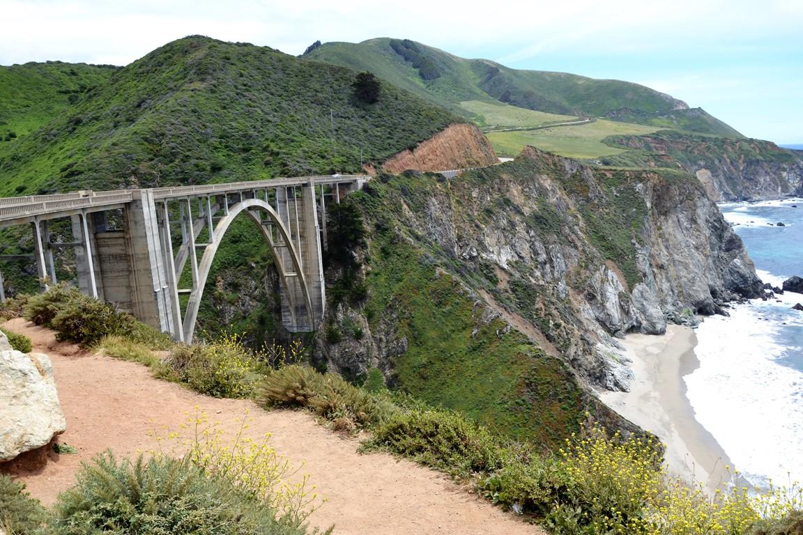 Bixbie Bridge, Big sur, kalifornia, zbierajsie