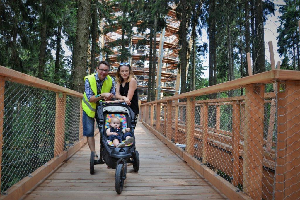 gdzie jechać z dzieckiem na Dolnym Śląsku i w okolicy -zbierajsie -Ścieżka w koronach drzew