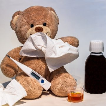 Dziecko chore na wakacjach