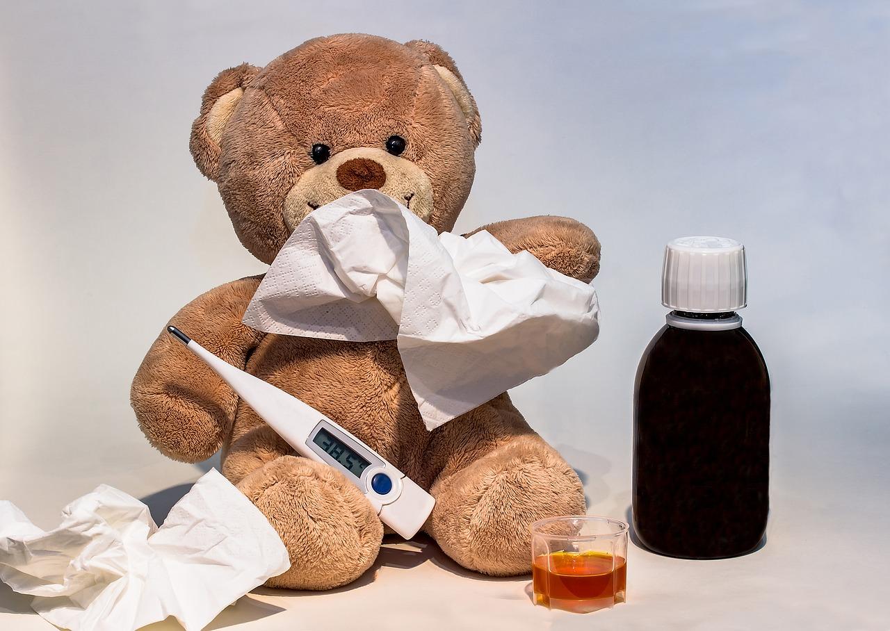 dziecko chore nawakacjach