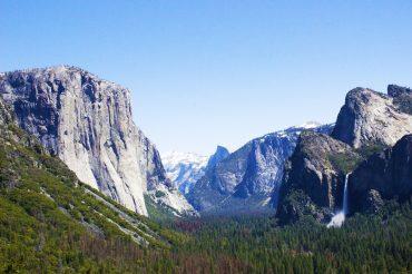 Dusza Yosemite – El Captain i Half Dome