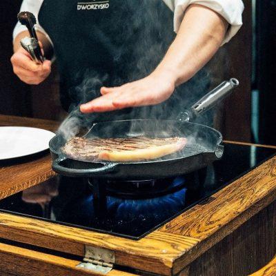 Stek w Restauracji Babinicz