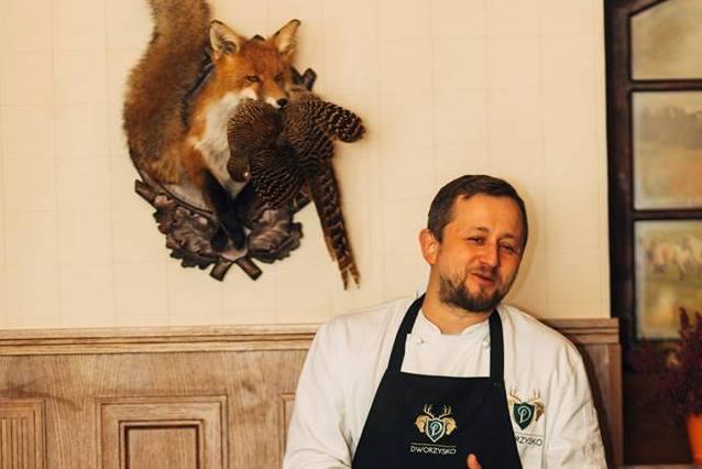 Wojciech Harapkiewicz, Szef Kuchni w Restauracji Babinicz.