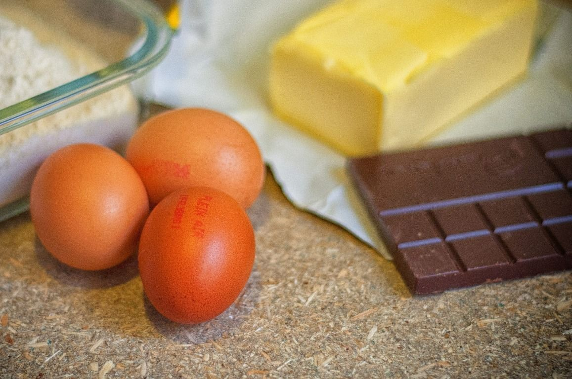 masło jaja