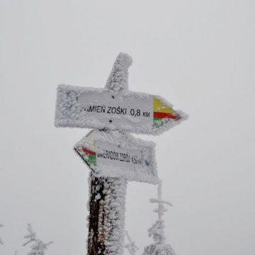 Izery i Stóg Izerski zimą: góry z dzieckiem