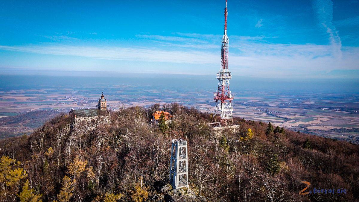 wieża widokowa naślęży szlak naślężę zbierajsie