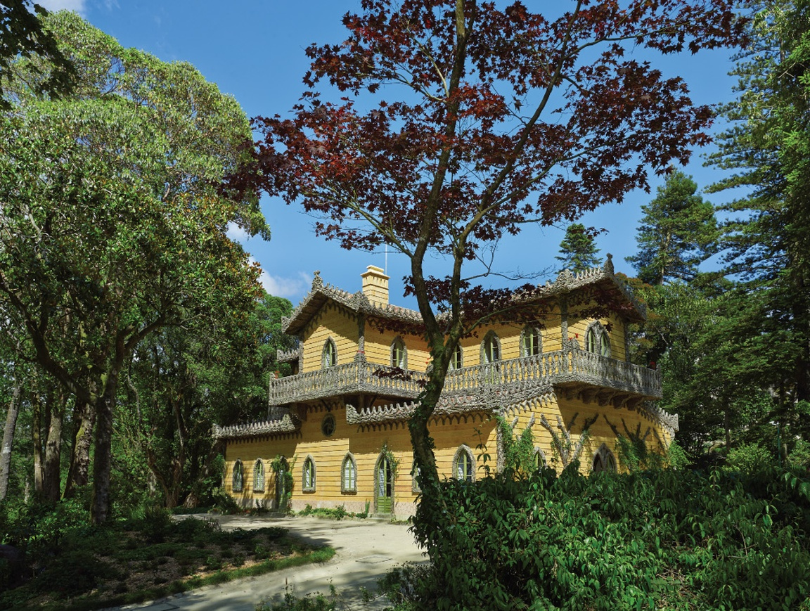 Portugalia, Sintra, CHALET AND GARDEN OF THE COUNTESS OF EDLA fot. parquesdesintra