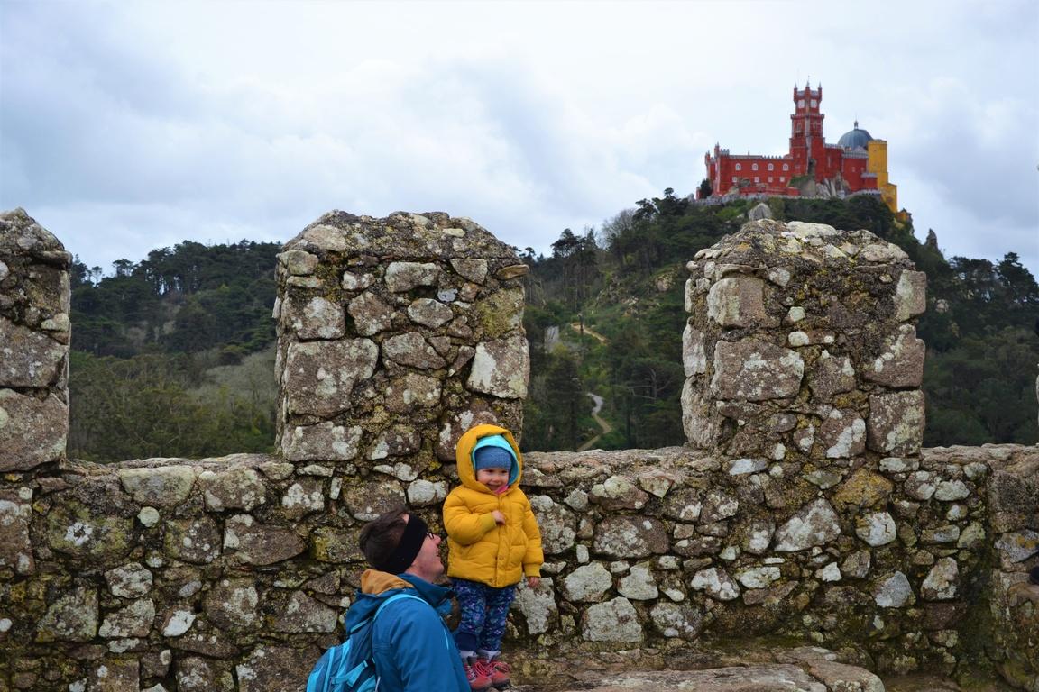 Portugalia, Sintra, Zamek Maurów, Zbierajsie (17)