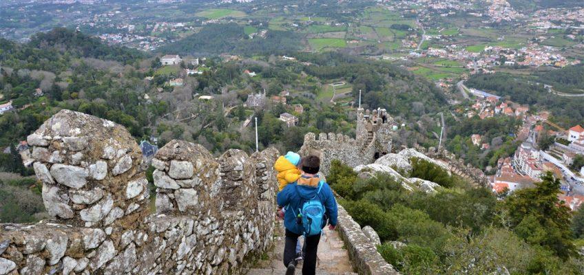 Portugalia, Sintra, Zamek Maurów, Zbierajsie (21)