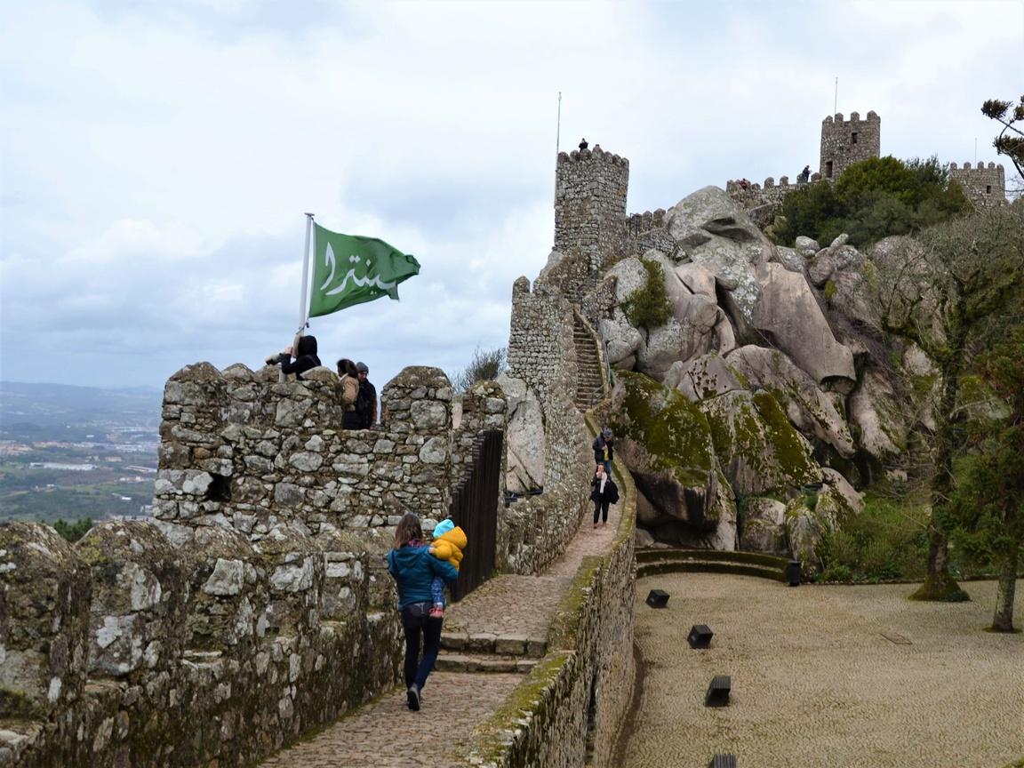 Portugalia, Sintra, Zamek Maurów, Zbierajsie (8)