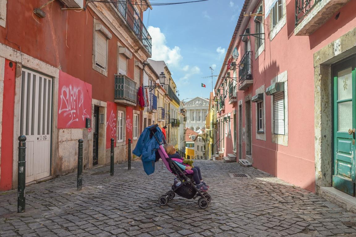 Portugalia_Lizbona_Wózek_na_wakacje_z_dzieckiem_GB_Pockit_opinie_zzbierajsie