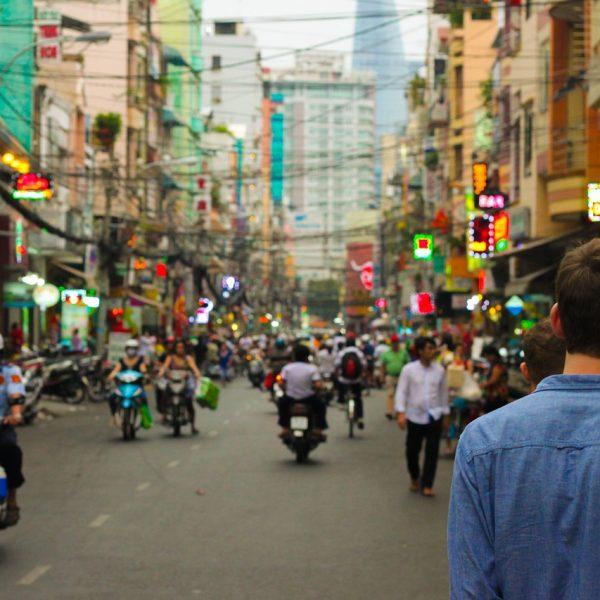 ulica w Azji