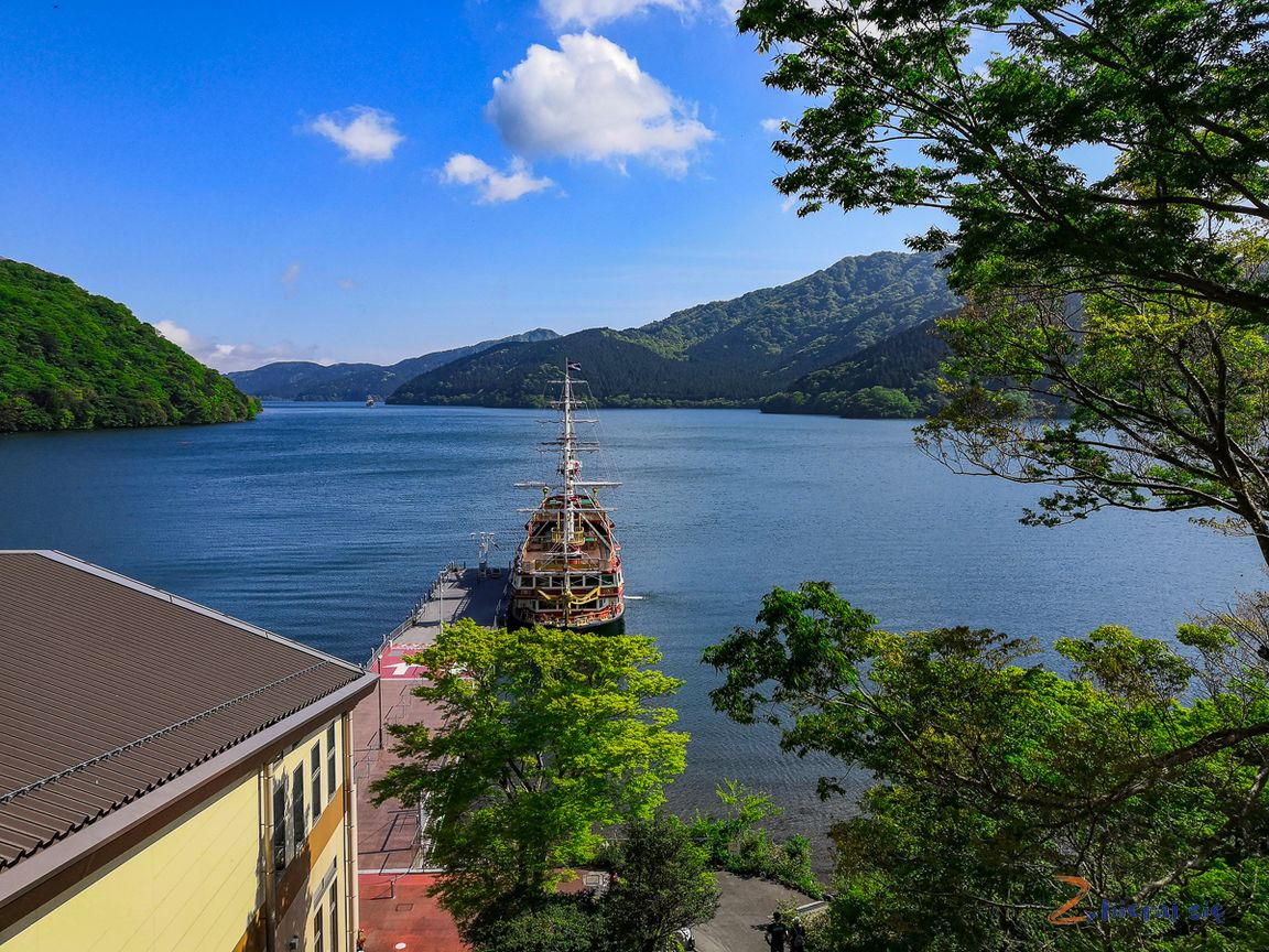 Jezioro Ashi, region Hakone