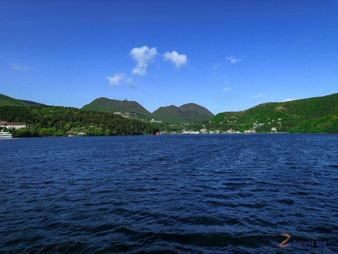 jezioto Ashi, region Hakone wJaponii