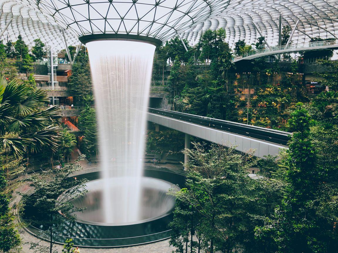 Singapur lotnisko Chiangi