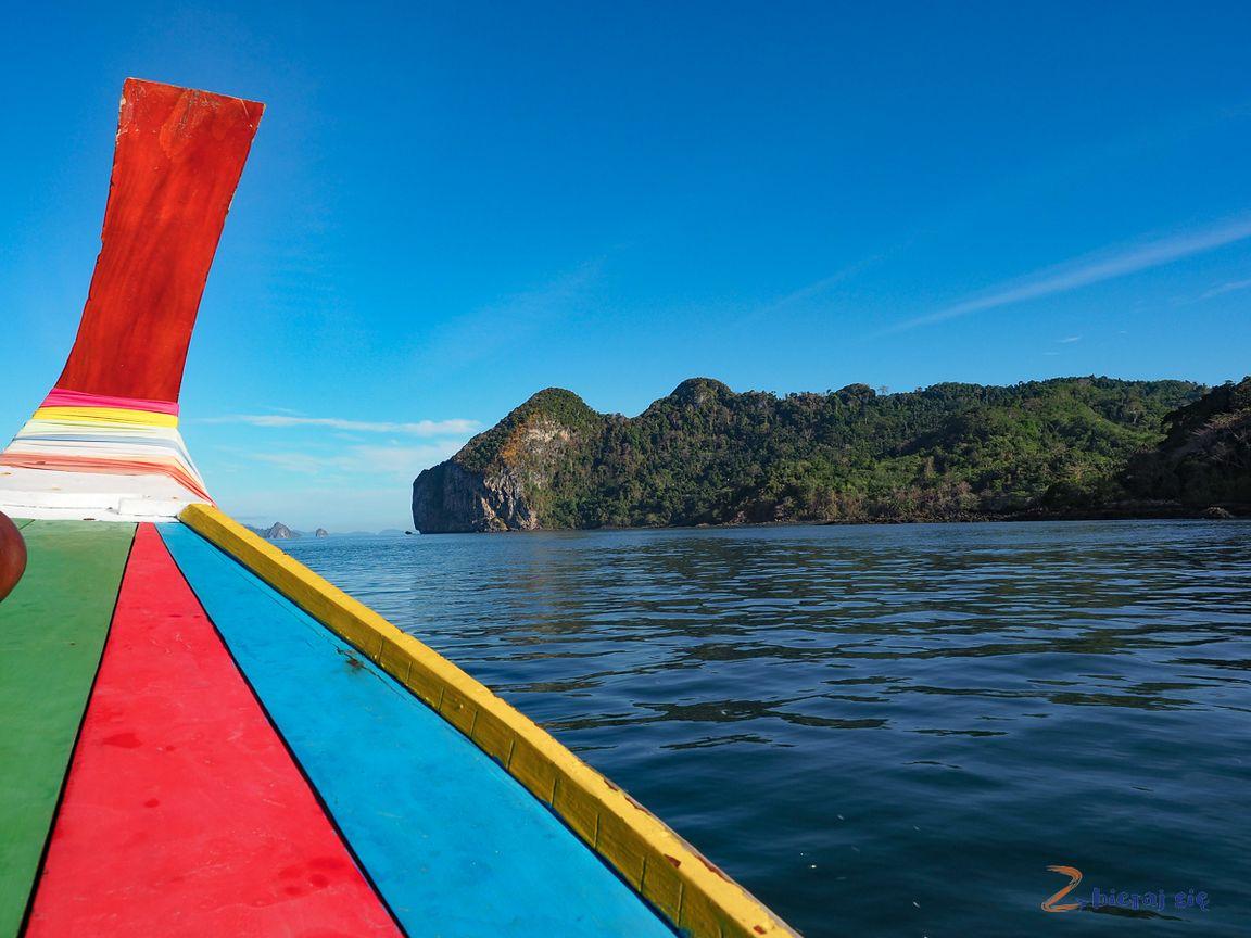 longboat nawyspach Trang wTajlandii