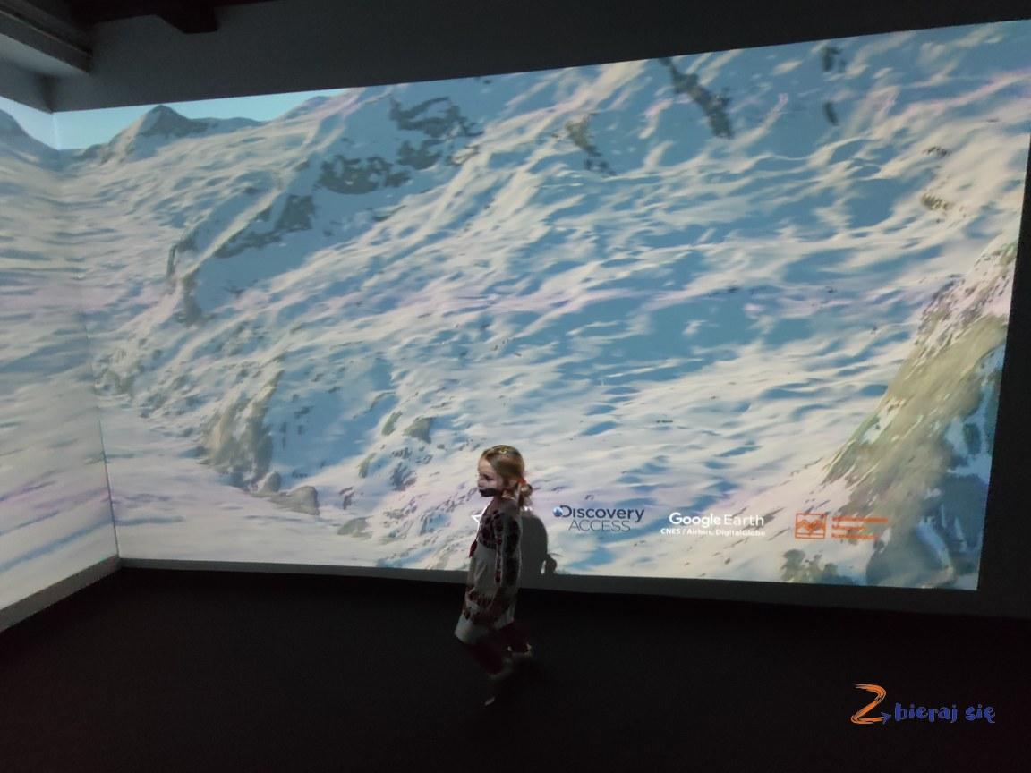 epoka lodowcowa wzegar wMultimedialne Muzeum Karkonoszy wKarpaczu