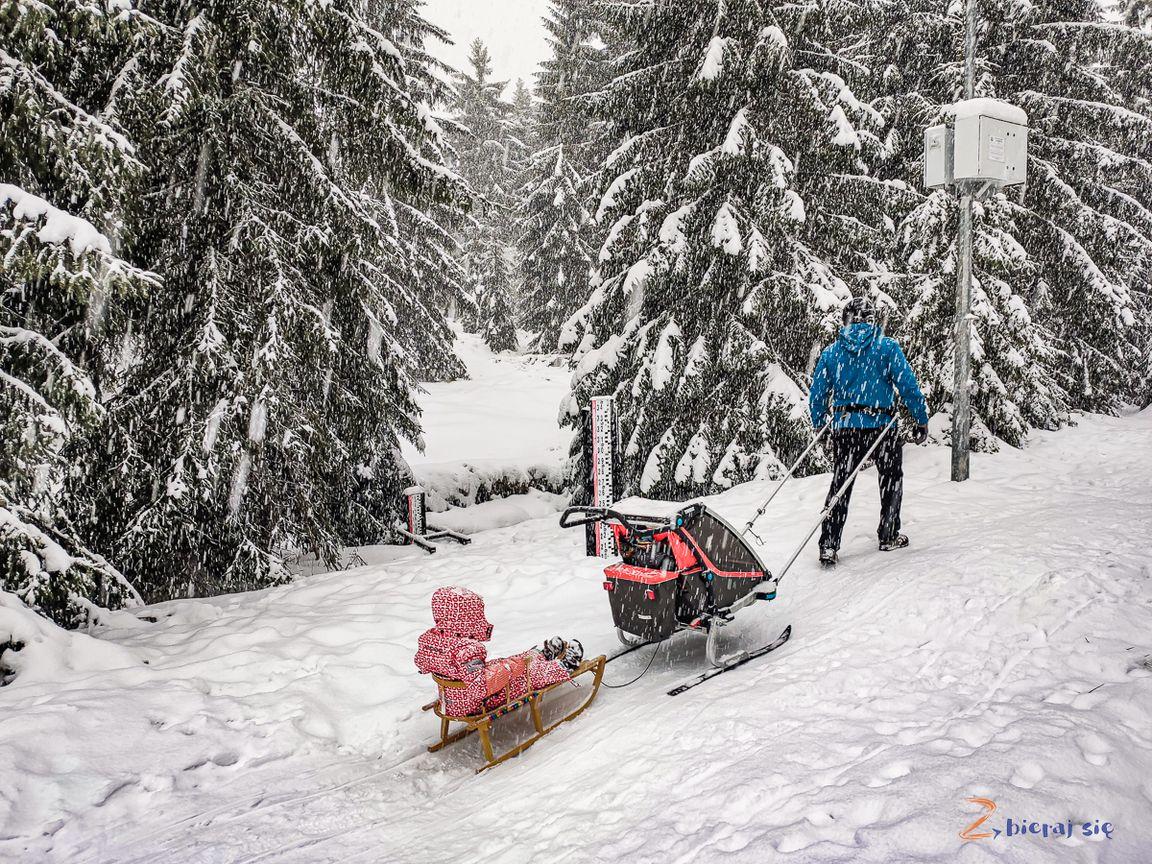 podsumowanie zimy_ zbierajsie_gdzie_na_sanki_w_Jakuszycach_szklarska_poreba_polana_maliszewskiego
