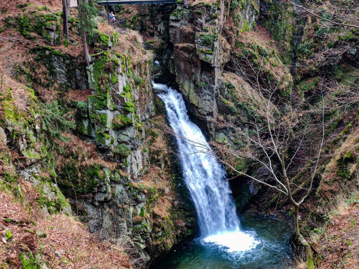 Wodospad Wilczki w Międzygórzu to trzeci wodospad w Polsce