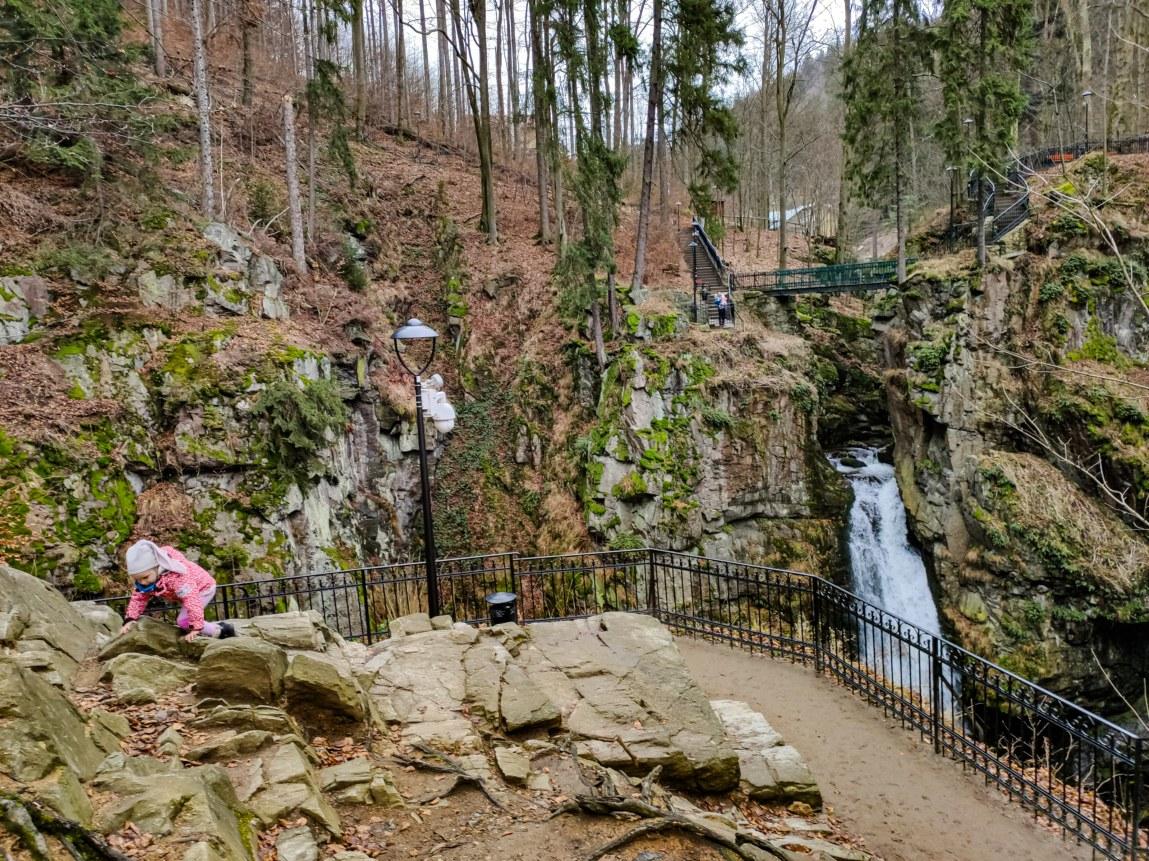 punkt widokowy Wodospad Wilczki