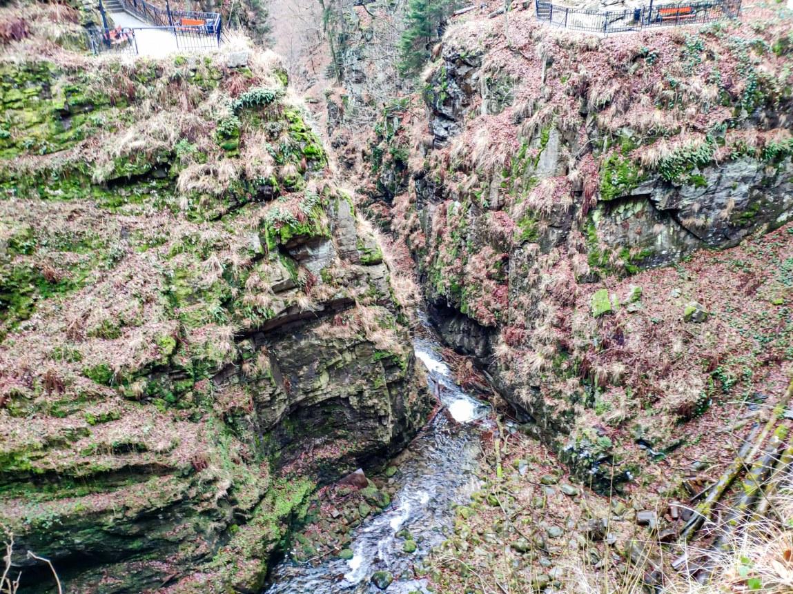 Wodospad Kamieńczyka Kanion amerykanski