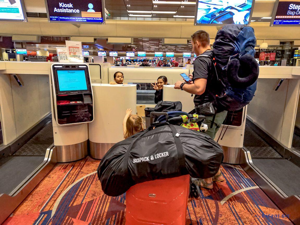 Nasza wyprawa doAzji iogromny bagaż