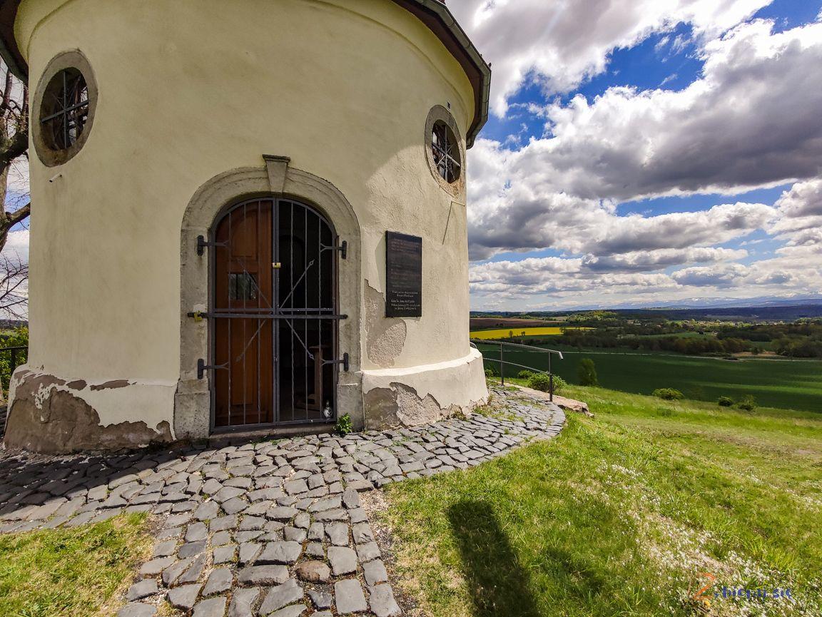 kapliczka św.Leopolda nagórze św.Anny wProszówce