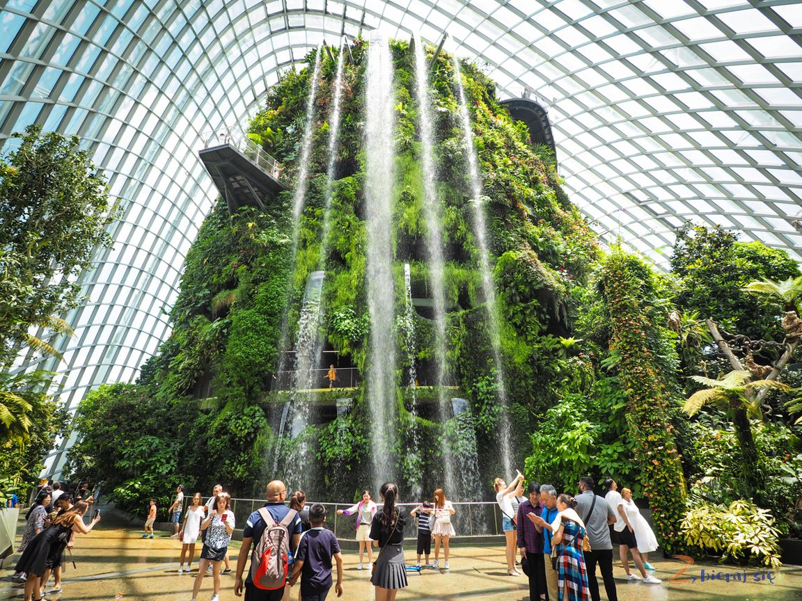 singapur-plan-zwiedzania-zbierajsie_cloud_forest_gardens_by_the_bay